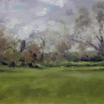Landscape painting of Kemble