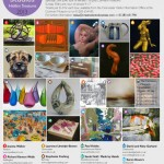 Poster for Cotswold Open Studios 2013