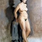 Figure oil painting - Helen Davison