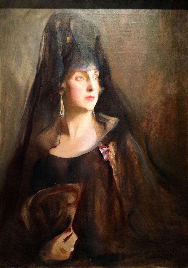 Painting by Philip De László