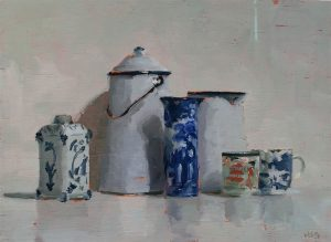 Helen Simmonds still life painting