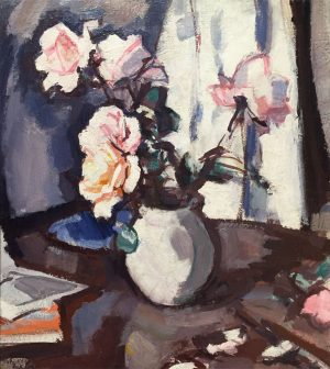 Painting by Samuel Peploe