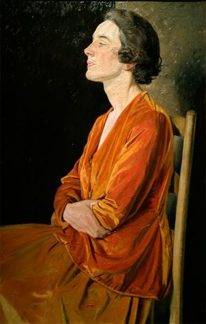 Painting by William Rothenstein