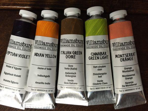 Williamsburg oil paints