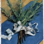 """Bound Rosemary"", 6"" x 8"", oil on Arches oil paper"