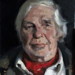 Oil portrait of Victor by Helen Davison Bradley