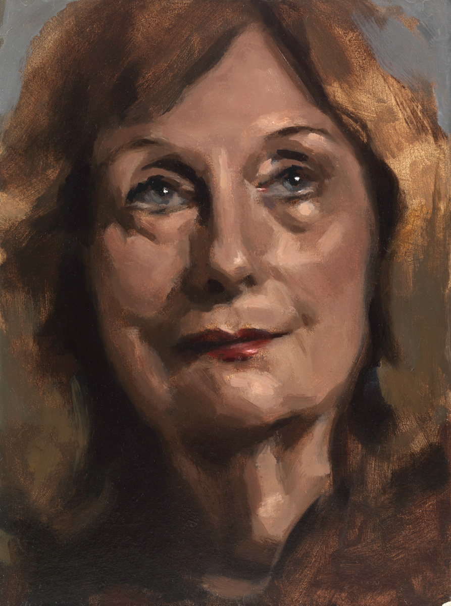 Oil portrait by Helen Davison Bradley