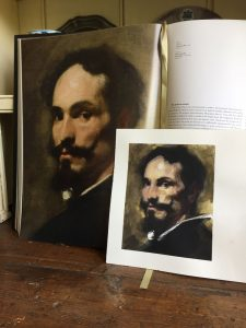 Watercolour masterclass's copy of a painting by Velasquez by Helen Davison